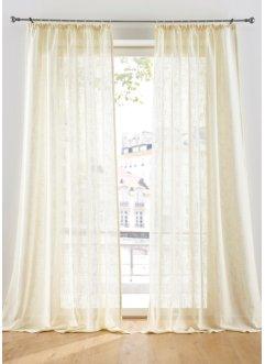 Vorhang in Leinen Optik (1er Pack), bpc living bonprix collection