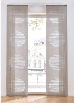 Schiebegardine mit Kreisen (1er Pack), bpc living bonprix collection