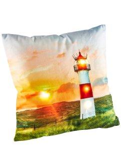 LED-Kissenbezug mit Leuchtturm Design, bpc living bonprix collection