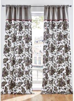 Bio Baumwoll Vorhang mit Druck (1er Pack), bpc living bonprix collection
