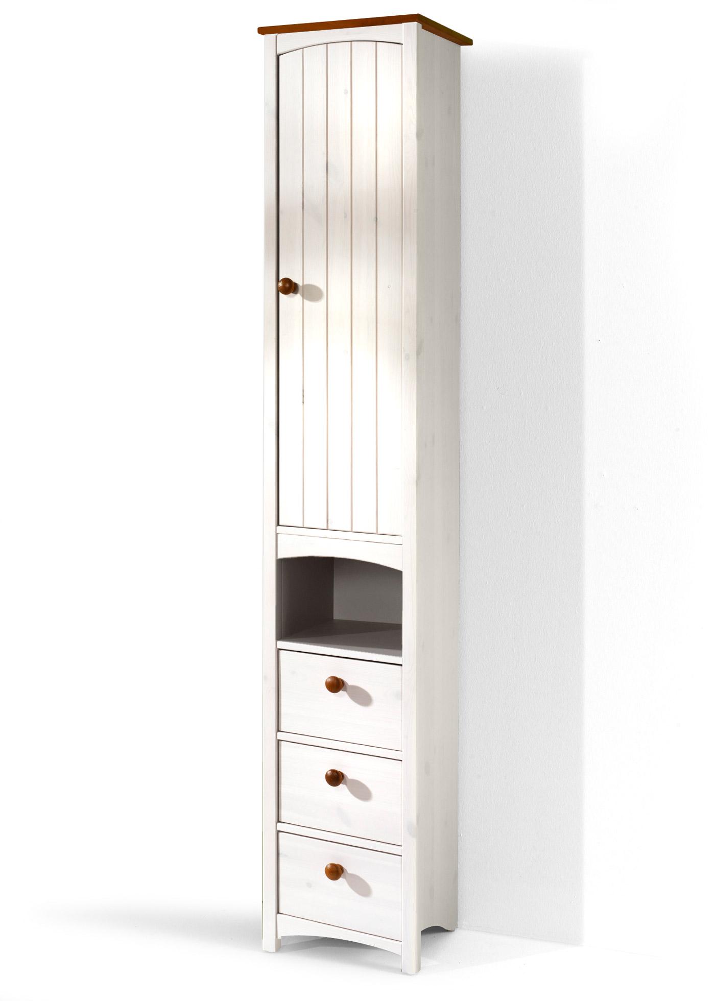 schmaler schrank weiss sonstige preisvergleiche. Black Bedroom Furniture Sets. Home Design Ideas