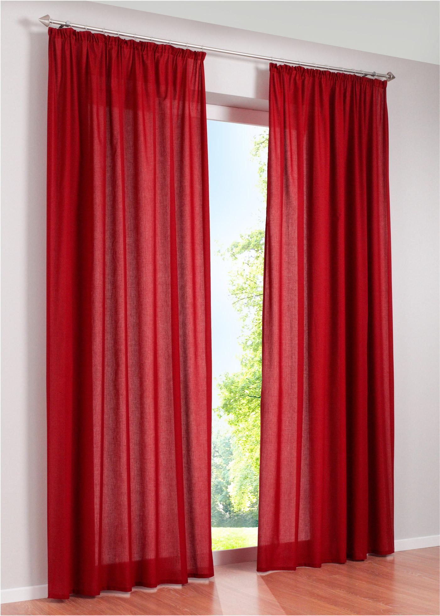 vorhang rot dekoration mode fashion. Black Bedroom Furniture Sets. Home Design Ideas