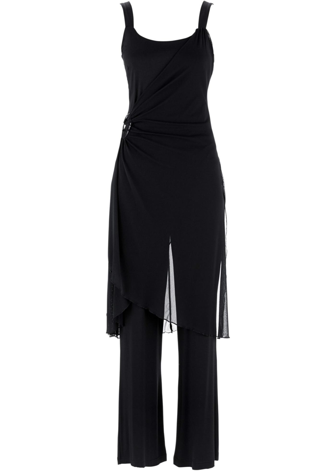 bpc bonprix collection Hosenanzug (2-tlg. Set) in schwarz für Damen von bonprix Damenmode > Damenbekleidung > Damenblazer