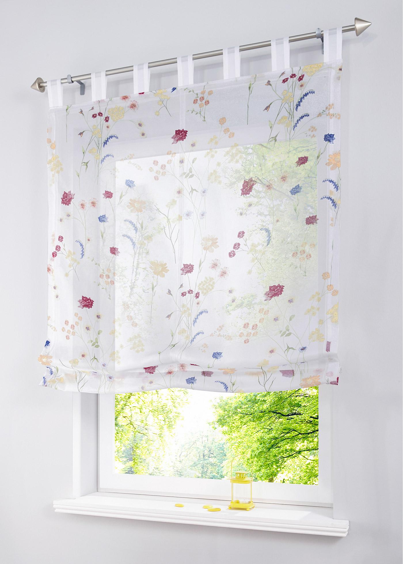 gardinen mit blumen sonstige preisvergleiche erfahrungsberichte und kauf bei nextag. Black Bedroom Furniture Sets. Home Design Ideas