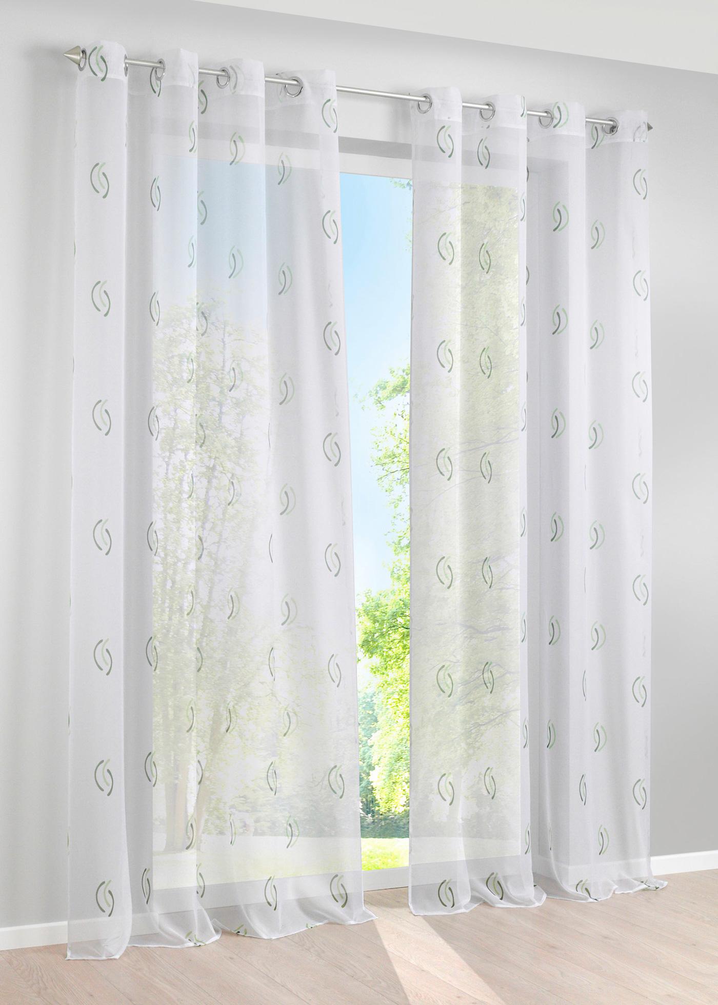 gardinen mit oesen gr n sonstige preisvergleiche erfahrungsberichte und kauf bei nextag. Black Bedroom Furniture Sets. Home Design Ideas