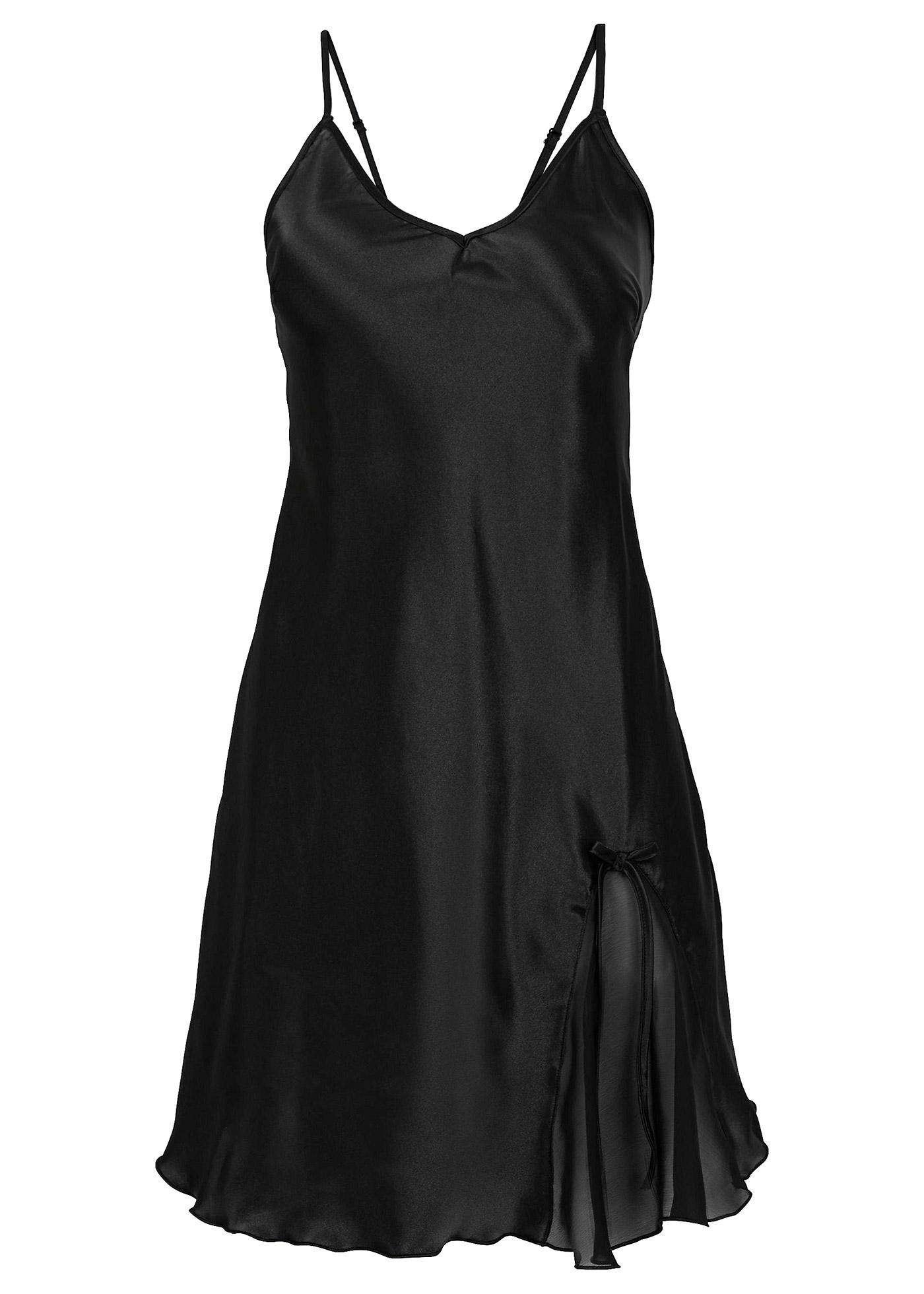 Neglige ohne Ärmel  in schwarz für Damen von bonprix Wäsche > Unterwäsche Damen > Corsagen & Negligés