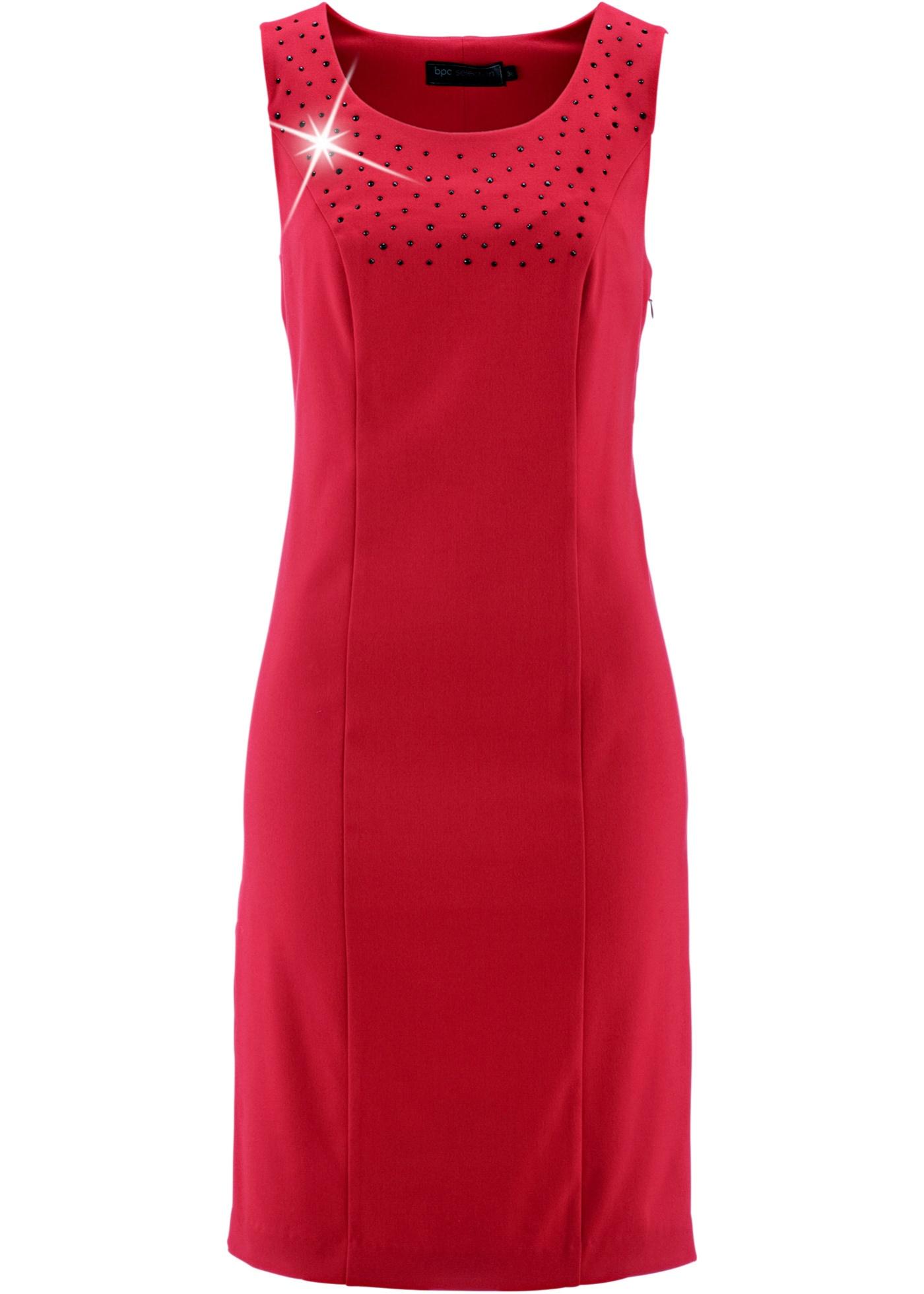 Etui-Kleid in rot von bonprix