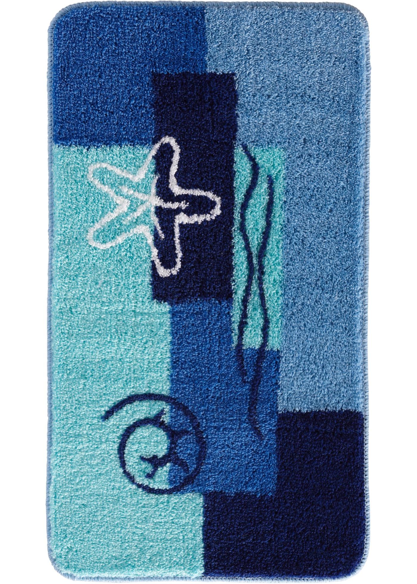 Badgarnitur Ocean in blau von bonprix Wohnen > Heimtextilien > Badematten