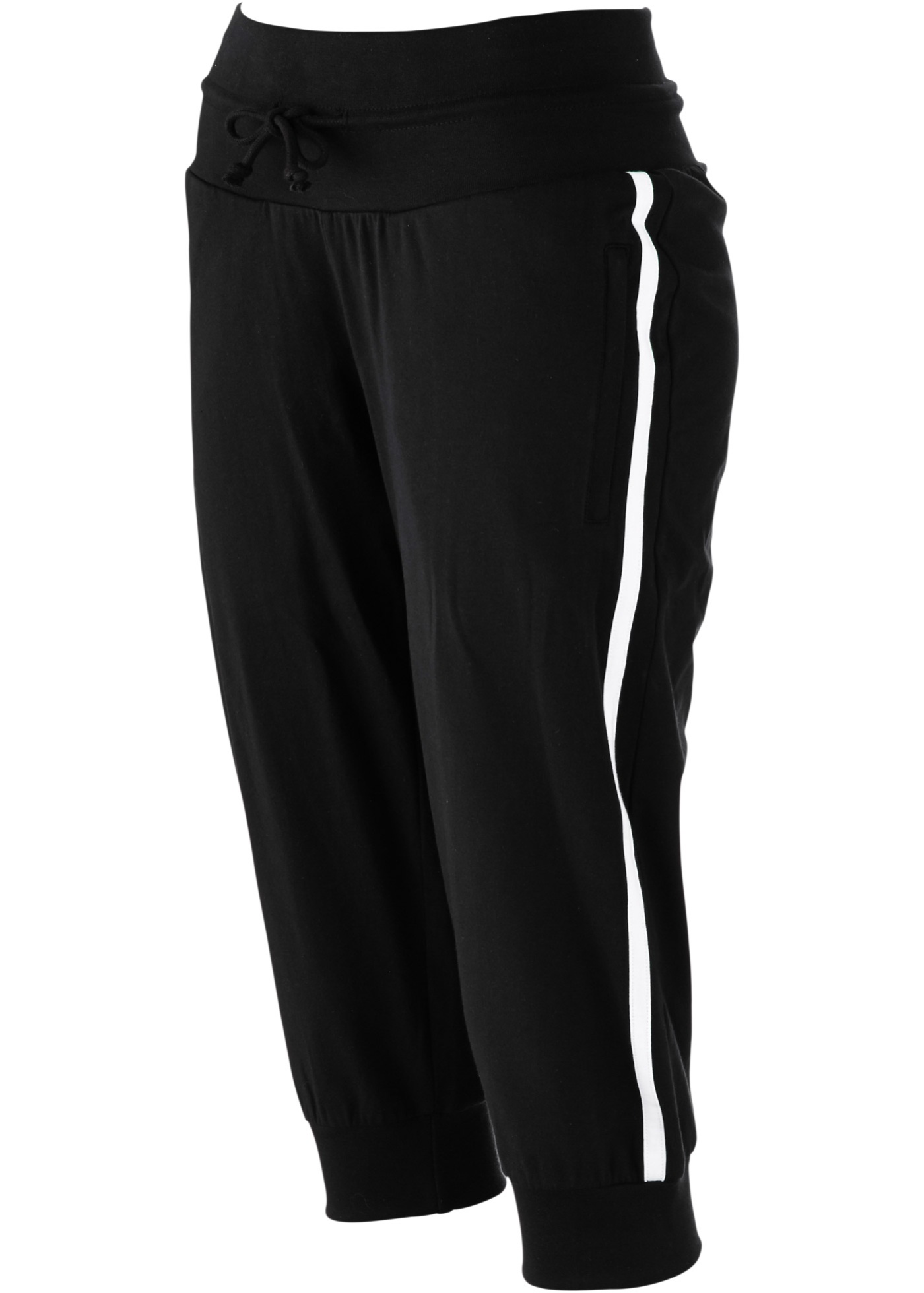 bpc bonprix collection Stretch-Sport-Knickerbocker in schwarz von bonprix Damenmode > Damenbekleidung > Hosen > Jogginghosen