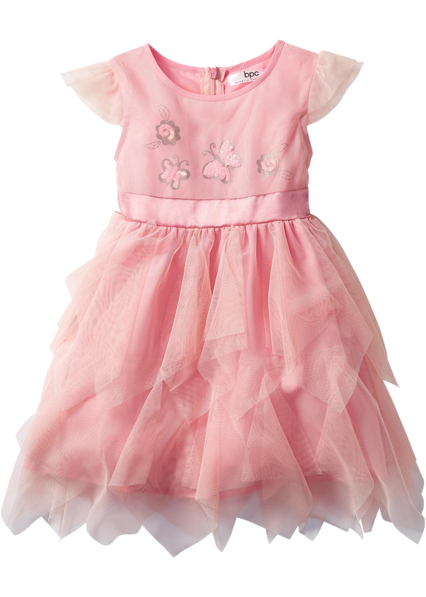 bpc bonprix collection Kleid in rosa von bonprix Kindermode > Mädchen > Minis 80-134 cm > Mädchen Kleider > Kleider