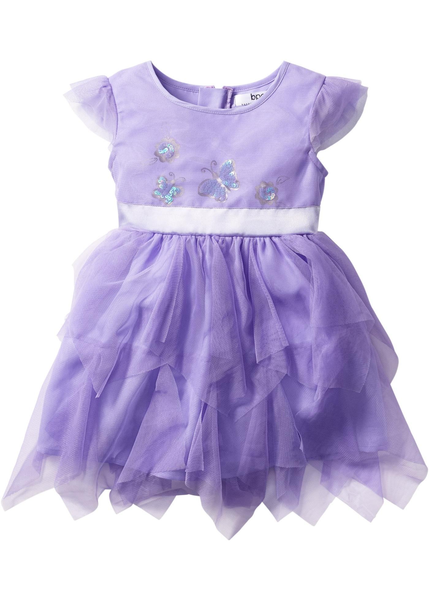 bpc bonprix collection Kleid in lila von bonprix Kindermode > Mädchen > Minis 80-134 cm > Mädchen Kleider > Kleider