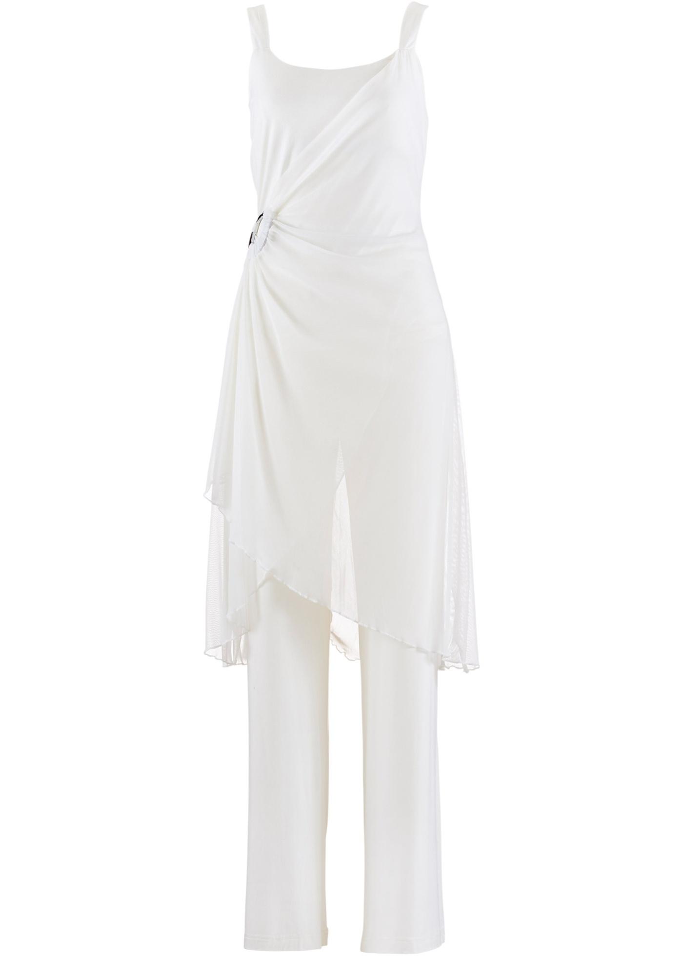 bpc bonprix collection Hosenanzug (2-tlg. Set) in weiß für Damen von bonprix Damenmode > Damenbekleidung > Damenblazer