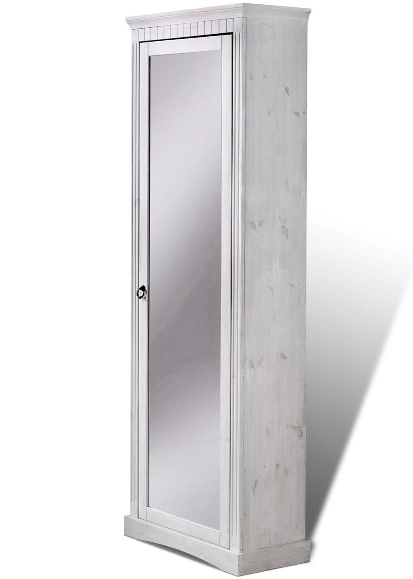 Schuhschrank Napoli mit Spiegel in weiß von bonprix Wohnen > Möbel & Dekoration > Schuhschränke