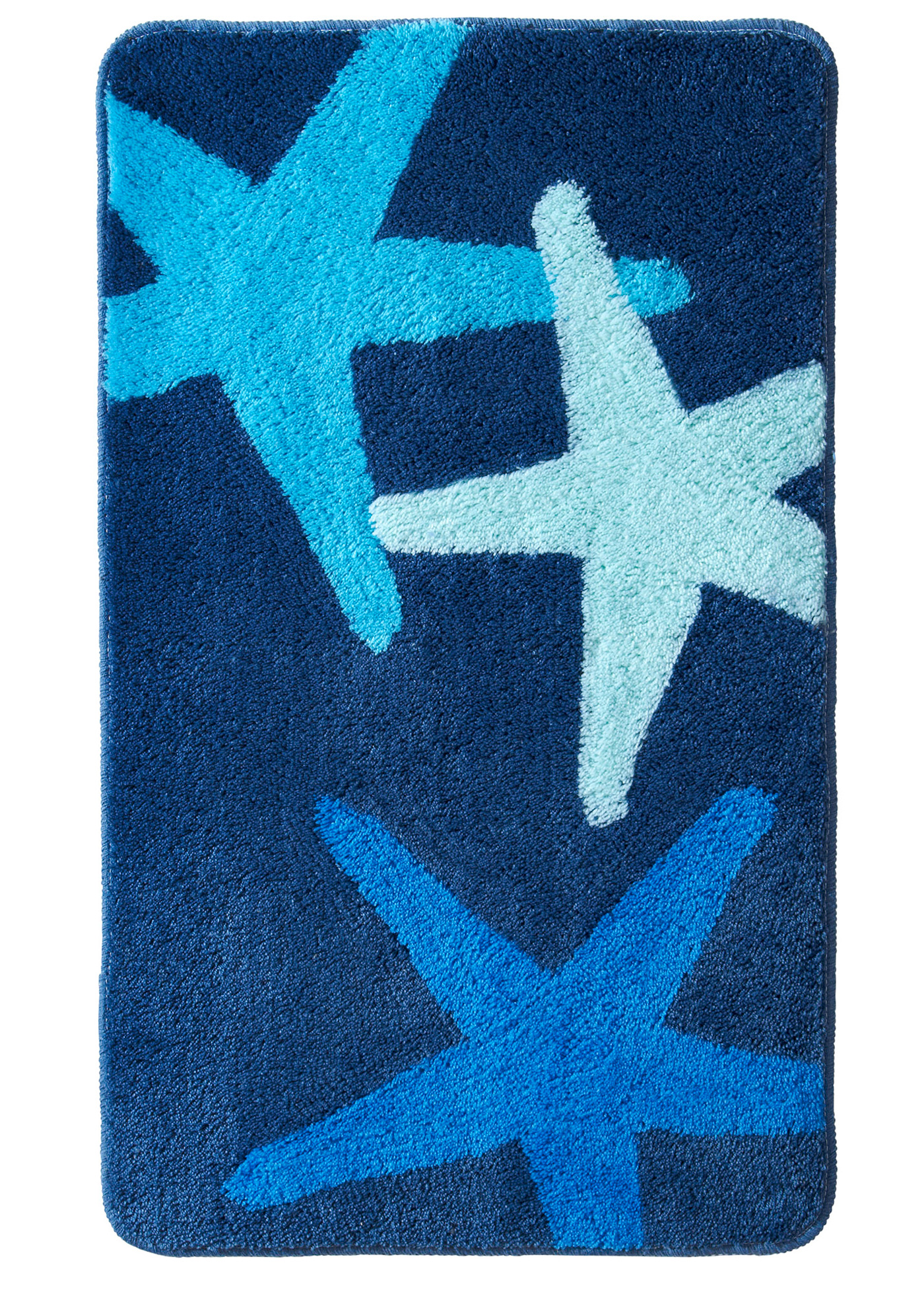 Badgarnitur Stella in blau von bonprix Wohnen > Heimtextilien > Badematten