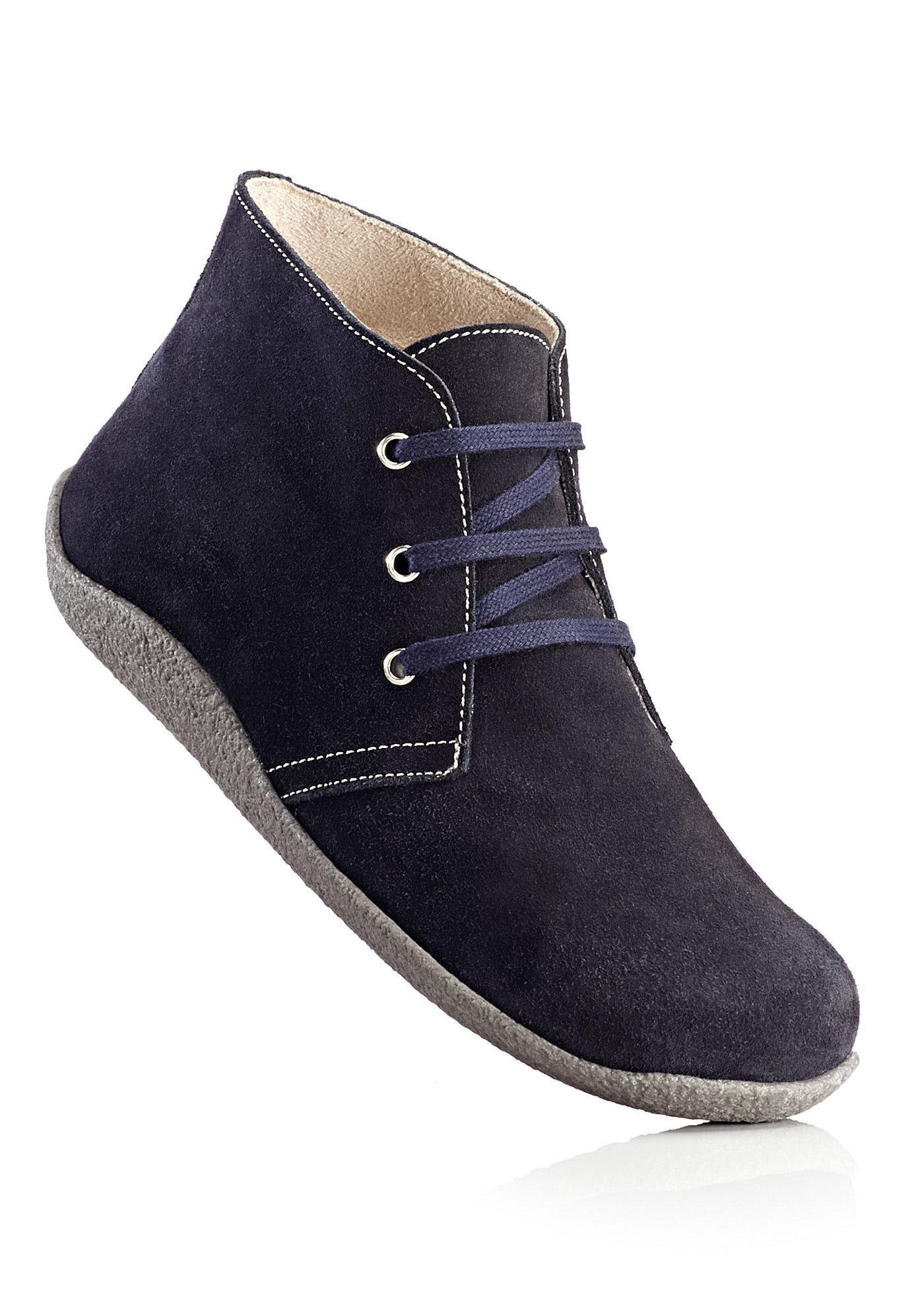 BioStep Lederstiefel in blau von bonprix Schuhe und Accessoires > Damenschuhe > Bequemschuhe