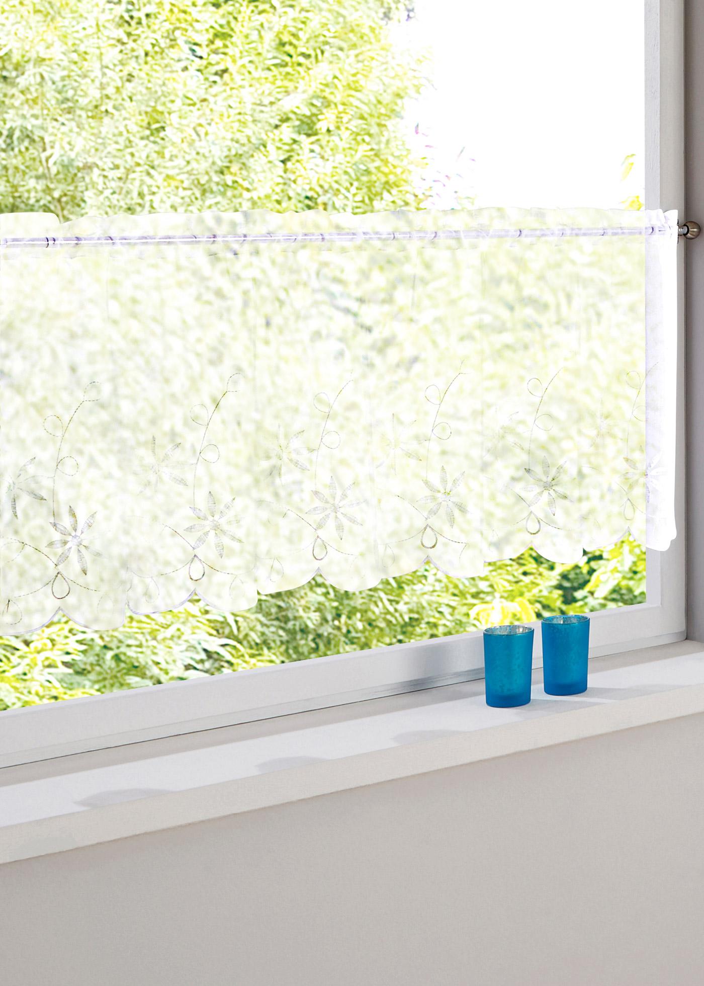 gardine k chenfenster preisvergleiche erfahrungsberichte und kauf bei nextag. Black Bedroom Furniture Sets. Home Design Ideas