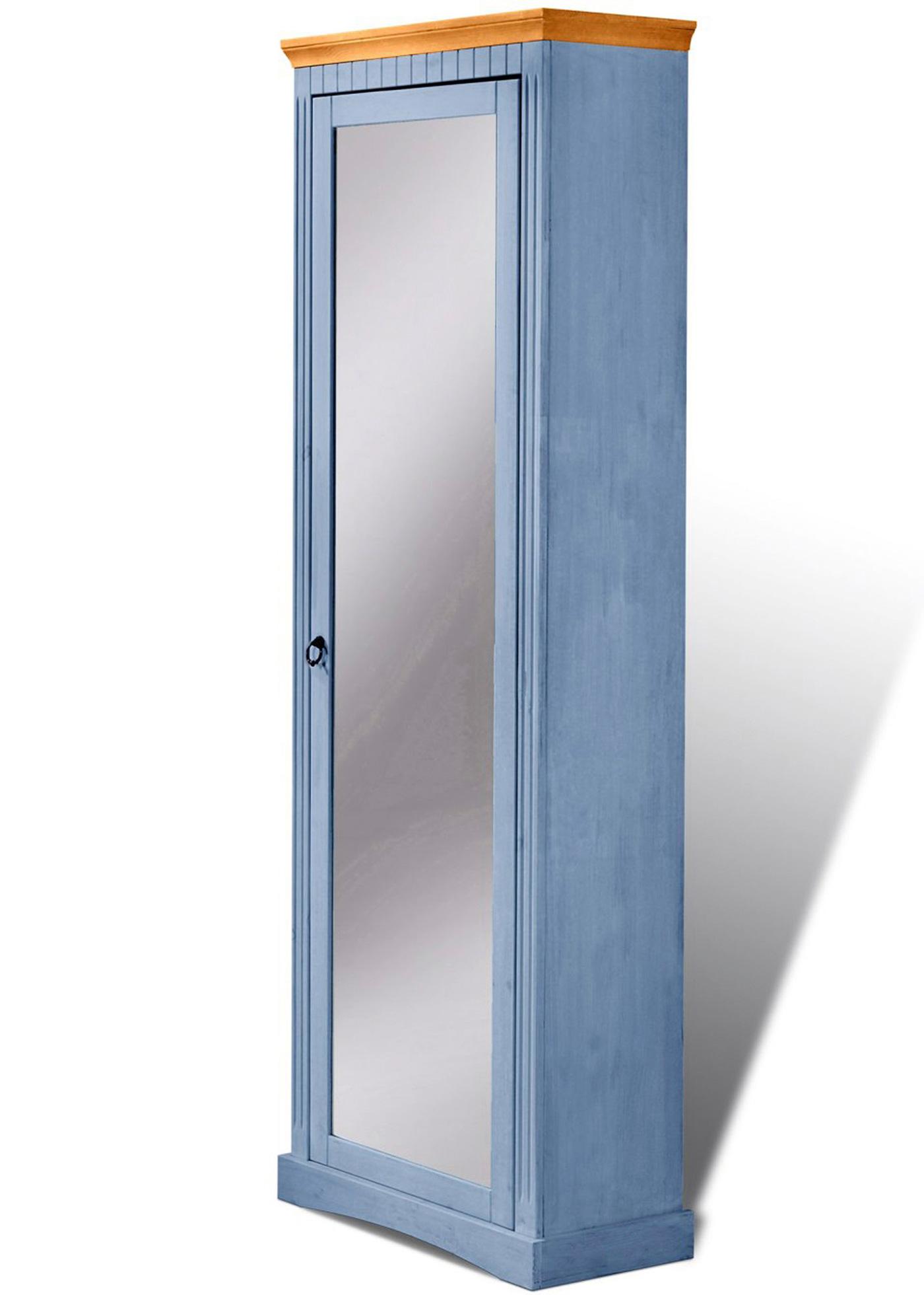 Schuhschrank Napoli mit Spiegel in blau von bonprix Wohnen > Möbel & Dekoration > Schuhschränke