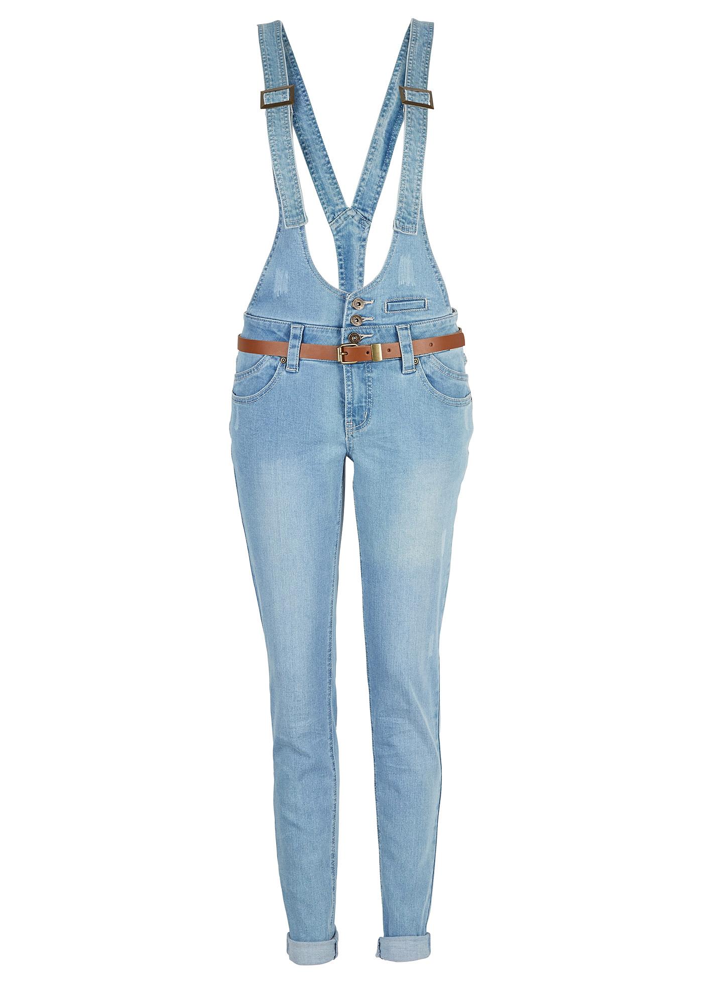 Jeans sehr figurbetont  in blau für Damen von bonprix Damenmode > Damenbekleidung > Jeans > lange Jeans