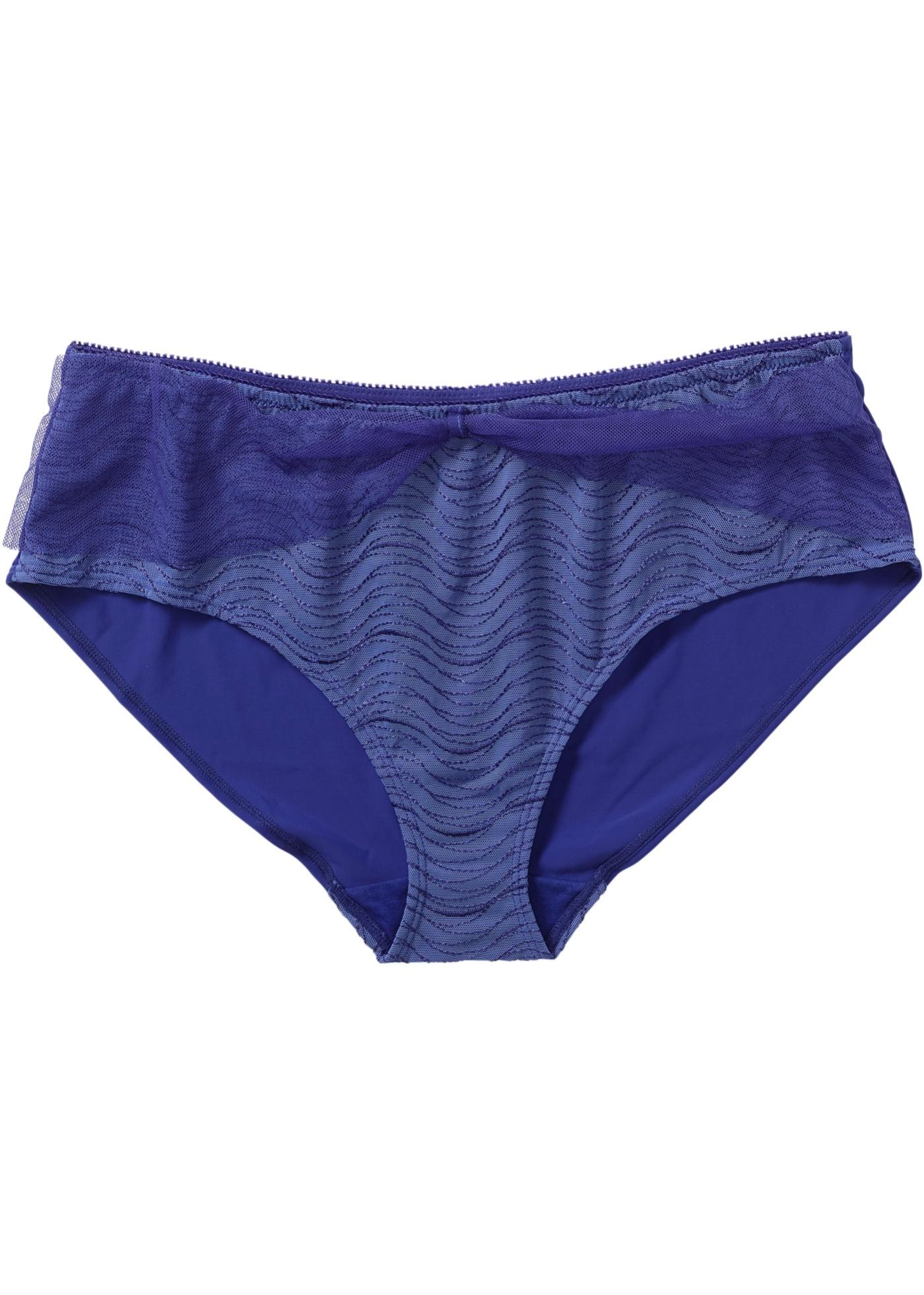 bpc selection Panty in blau für Damen von bonprix Wäsche Unterwäsche Damen Höschen Damen Panty