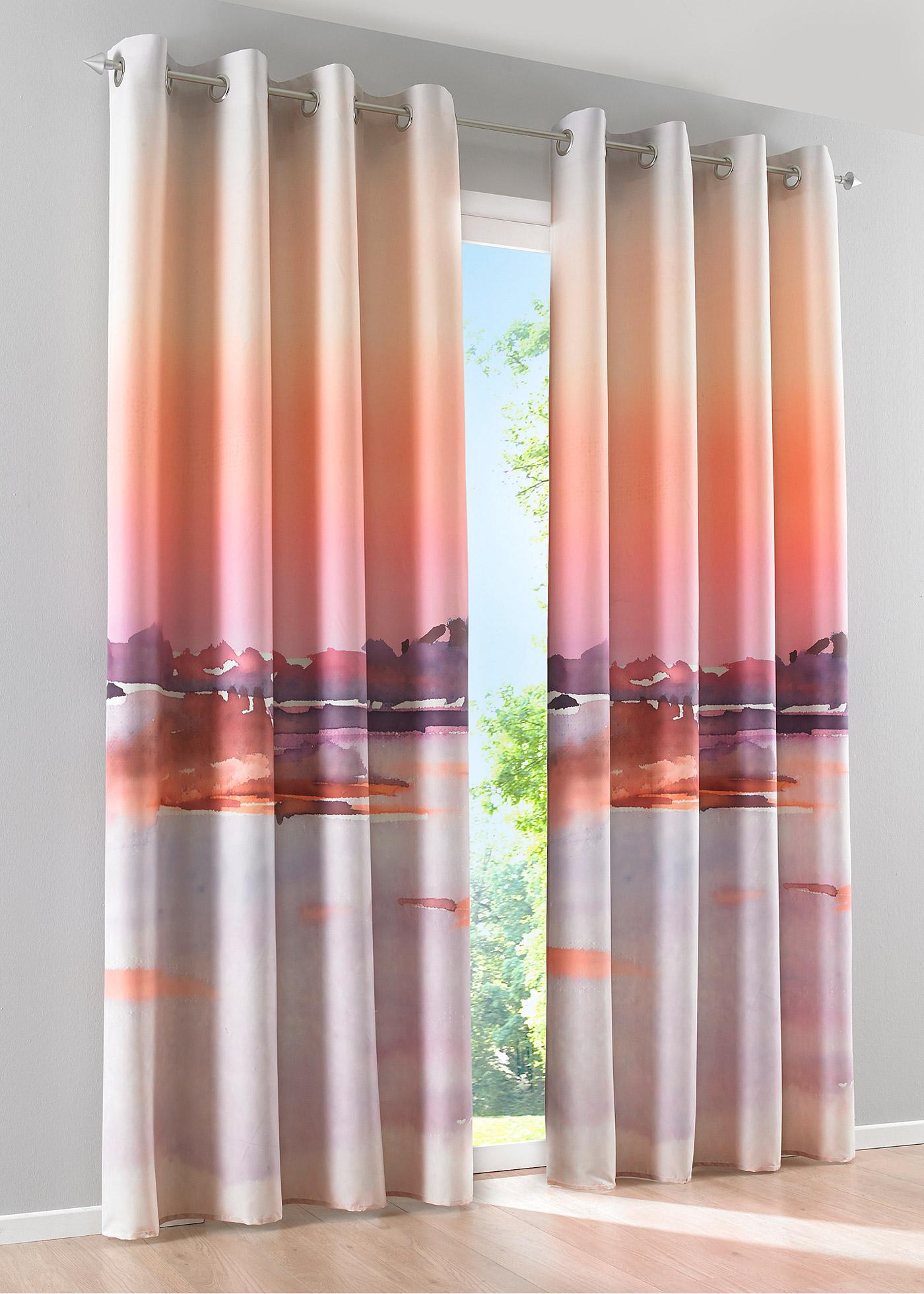 gardinen mit fotodruck sonstige preisvergleiche. Black Bedroom Furniture Sets. Home Design Ideas