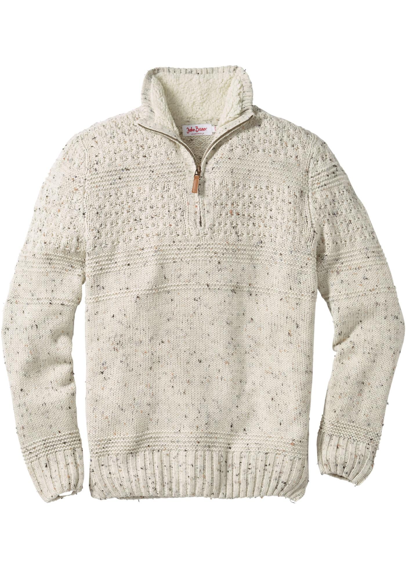Troyer-Pullover Regular Fit