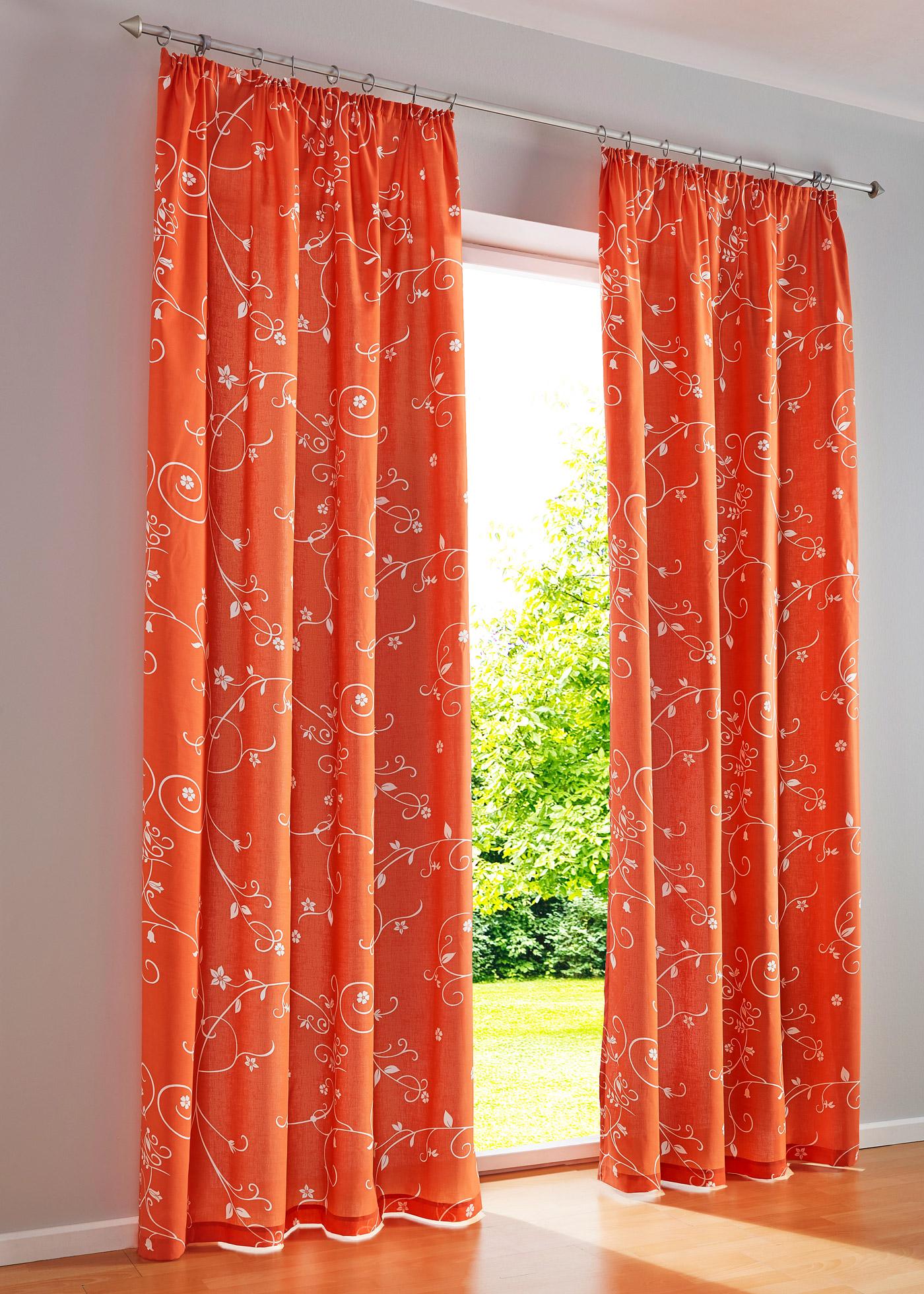 Vorhang mit kr uselband und blickdicht preisvergleiche - Bonprix vorhang ...