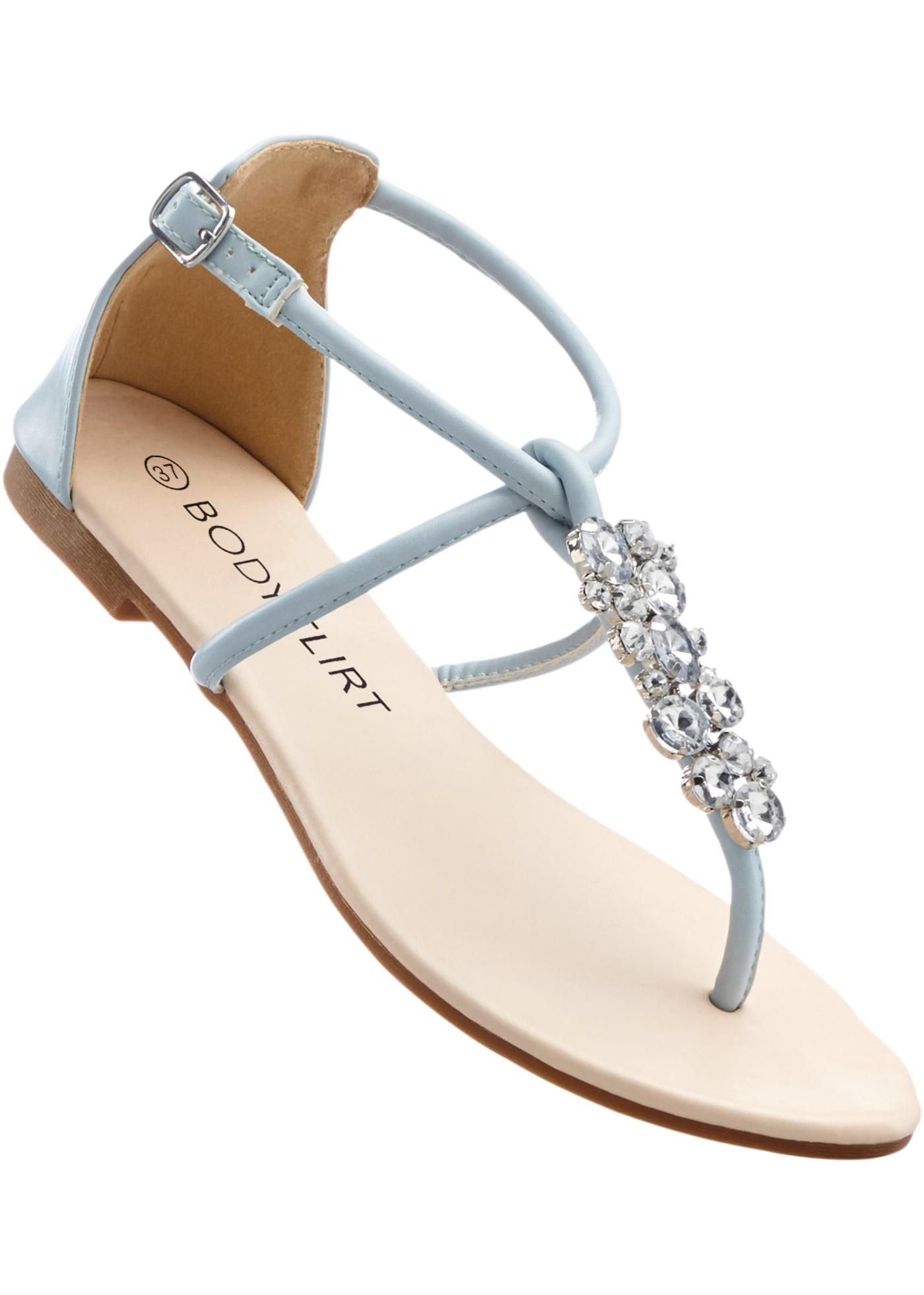 Sandales, BODYFLIRT, bleu clair