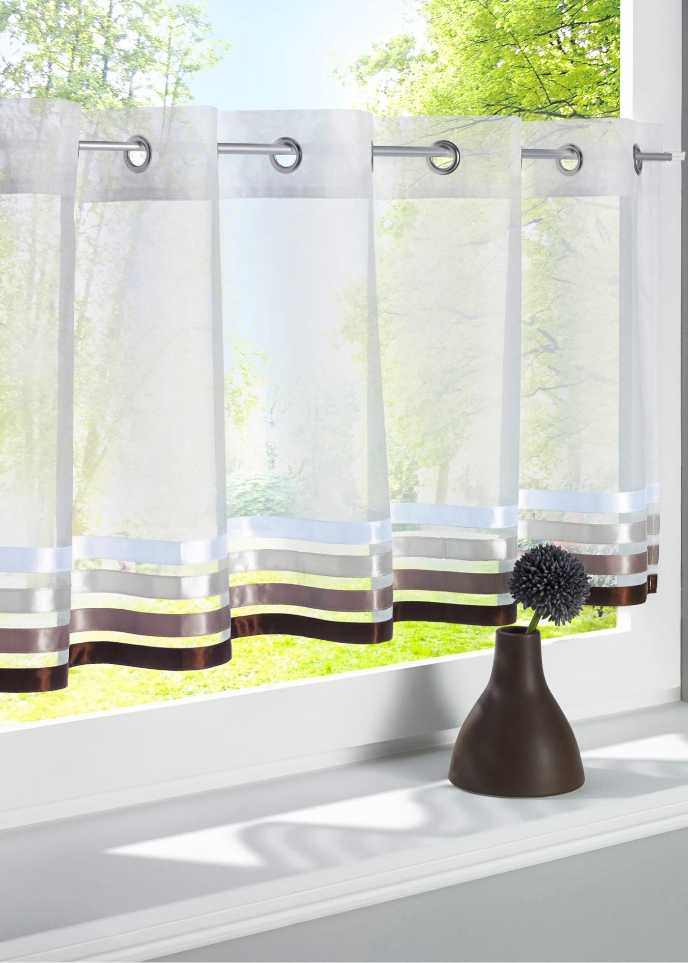 moderne scheibengardinen preisvergleiche erfahrungsberichte und kauf bei nextag. Black Bedroom Furniture Sets. Home Design Ideas