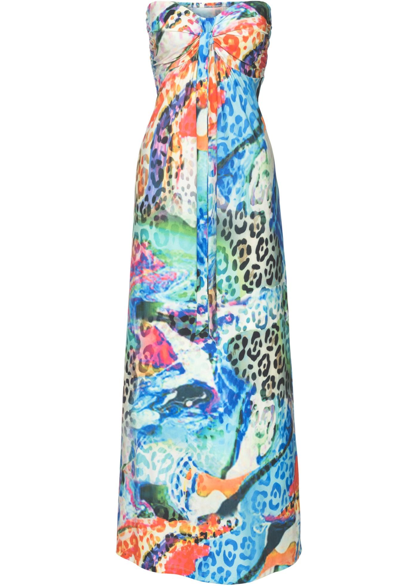 Kleid lang - broschei
