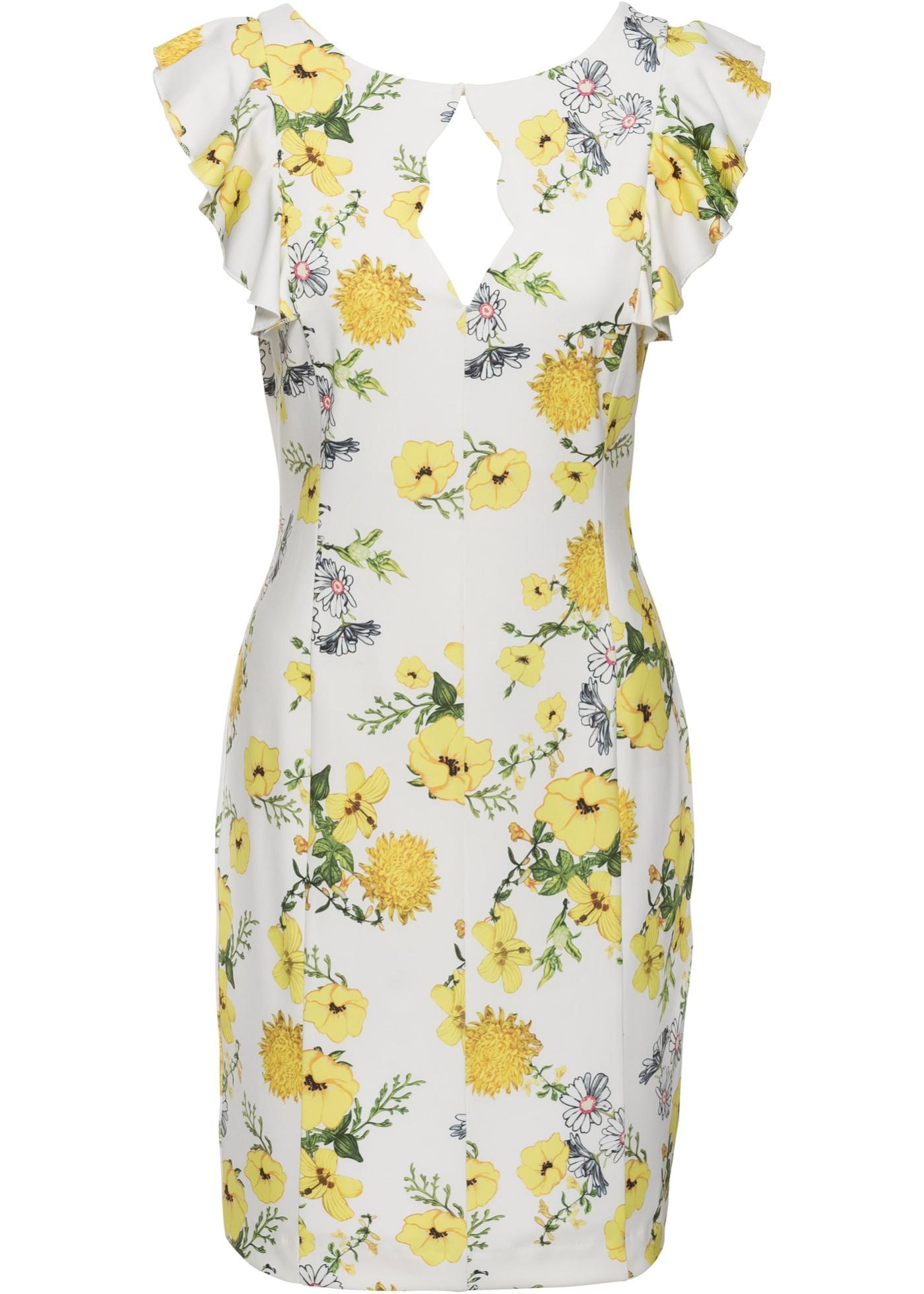 Kleid mit Blumenprint jetztbilligerkaufen