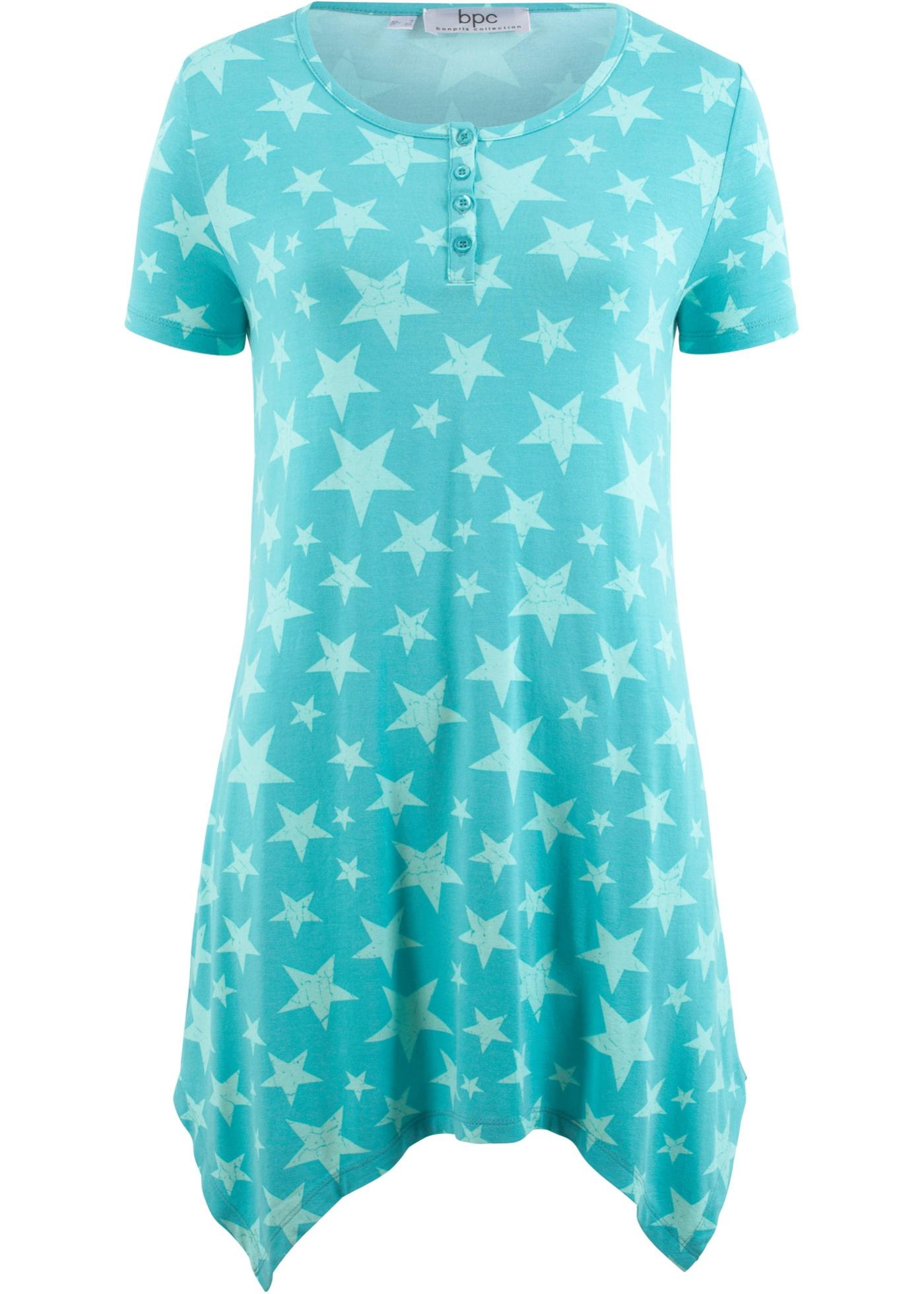 Zipfel-Shirt mit kurzen Ärmeln