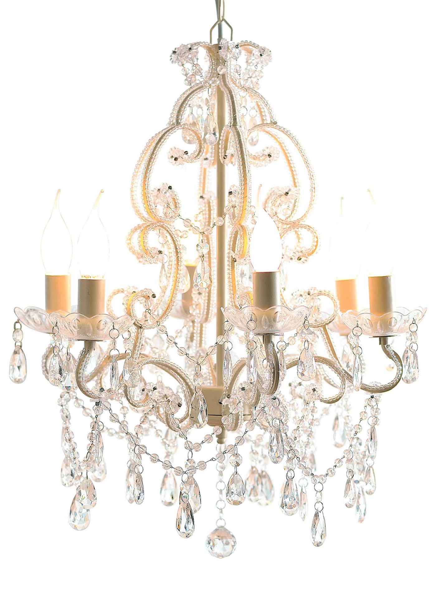 Kronleuchter Lavie in weiß von bonprix Wohnen > Möbel & Dekoration > Leuchten