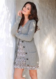 Long-Strickjacke (bpc bonprix collection)