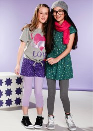 Kleid + lange Leggings (2-tlg.) (bpc bonprix collection)