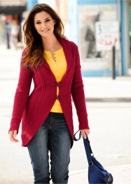 Strickjacke Lang (bpc bonprix collection)
