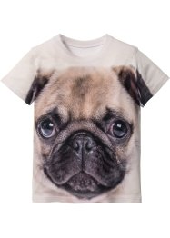 3D-T-Shirt, bpc bonprix collection, weiß bedruckt