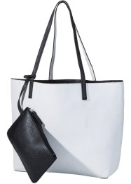 Sac réversible, bpc bonprix collection, noir/blanc