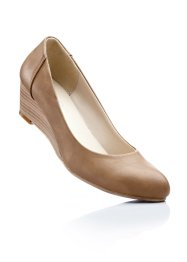 Keilpumps, bpc bonprix collection, camel