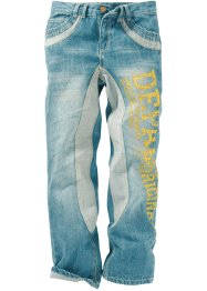 Jeans med tryck, John Baner JEANSWEAR, dirty denim