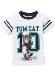 "T-Shirt ""TALKING TOM"", Talking Tom and Friends, weiss bedruckt ""TALKING TOM"""