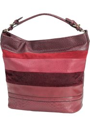 Handtasche im Patchdesign, bpc bonprix collection, bordeaux
