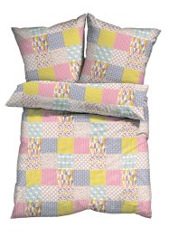 "Bettwäsche ""Patchwork"", bpc living, multi"