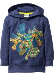 "Kapuzenshirt ""TURTLES"", Teenage Mutant Ninja Turtles, dunkelblau melange ""TURTLES"""
