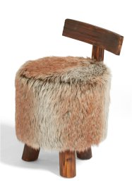 "Hocker ""Wool"", bpc living, braun"