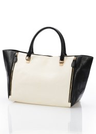 "Tasche ""Magdalena, bpc bonprix collection, schwarz/off white"