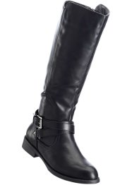 Stiefel in 2 Weiten, bpc bonprix collection, schwarz