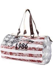 Sac Keisha, bpc bonprix collection, blanc/bleu/rouge