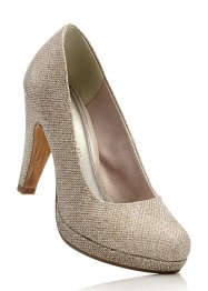 Pumps, Marco Tozzi, gold glitter