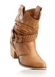 Schlupf-Stiefel, bpc bonprix collection, camel