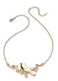 "Kette ""Birdy"", bpc bonprix collection, goldfarben"